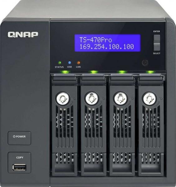 QNAP TS-470-US 4-Bay iSCSI NAS