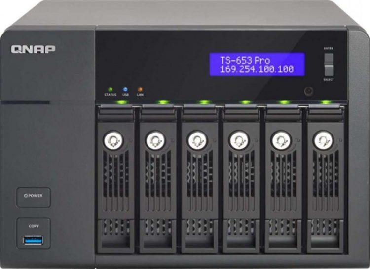 QNAP TS-653 Pro 6-Bay Professional-grade NAS