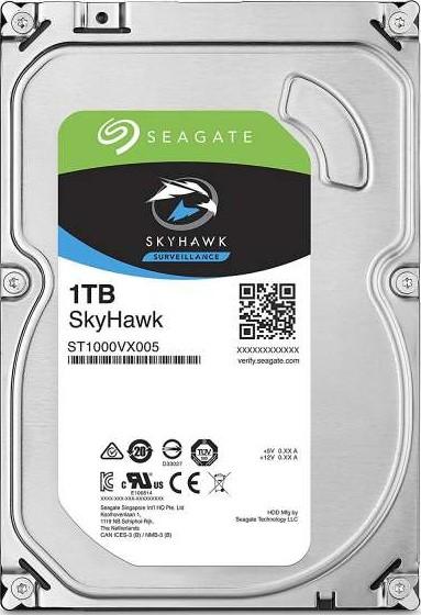 Seagate 1TB SkyHawk Surveillance Hard Drive - SATA 6Gb/s 64MB Cache 3.-Seagate