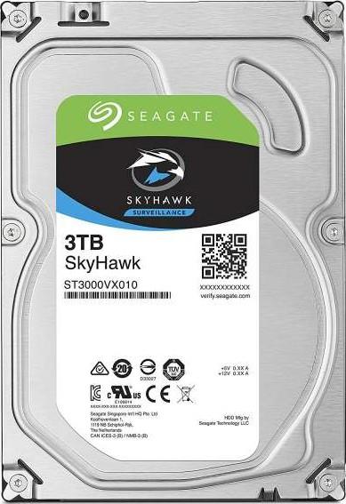 Seagate 3TB SkyHawk Surveillance Hard Drive - SATA 6Gb/s 64MB Cache 3.-Seagate