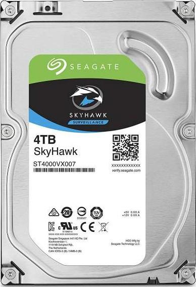 Seagate 4TB SkyHawk Surveillance Hard Drive - SATA 6Gb/s 64MB Cache 3.-Seagate