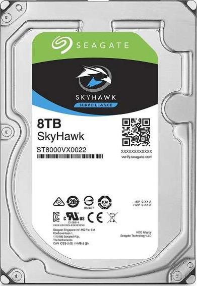 Seagate 8TB SkyHawk Surveillance Hard Drive - SATA 6Gb/s 256MB Cache 3-Seagate